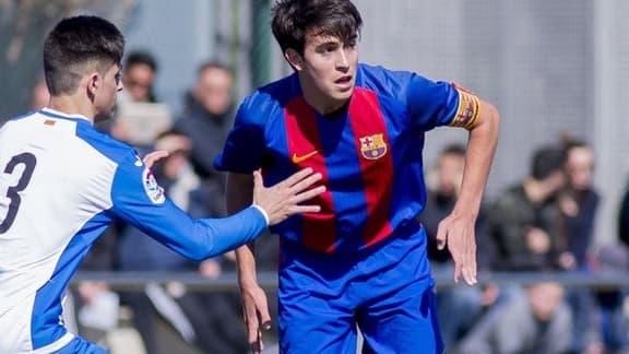 L'espoir barcelonais Eric Garcia