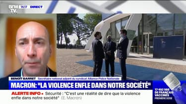 """Benoît Barret (Alliance Police): """"Prendre le temps, c'est faire offense aux forces de l'ordre"""""""