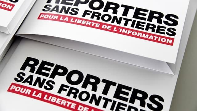 Ces personnalités se sont réunies à l'initiative de Reporters sans frontières (RSF).