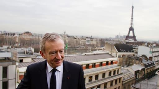 Bernard Arnault, Président-directeur général de LVMH.