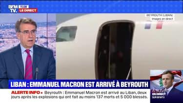 Liban: Emmanuel Macron est arrivé à Beyrouth - 06/08