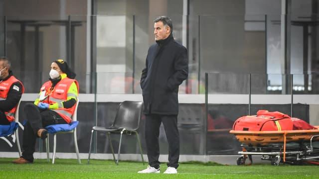 Christophe Galtier, l'entraîneur de Lille