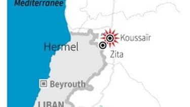 OFFENSIVE DE L'ARMÉE SYRIENNE CONTRE KOUSSAÏR