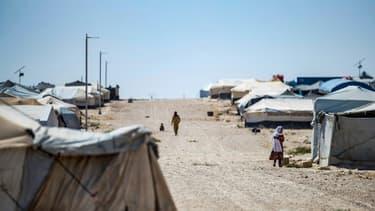 Le camp d'Al-Hol, en Syrie, le 25 août 2020