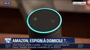 L'enceinte connectée Alexa permet aux employés d'Amazon d'écouter vos conversations