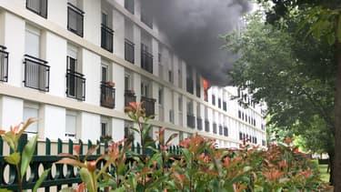 Un incendie s'est déclaré ce jeudi dans un immeuble du 14e arrondissement.