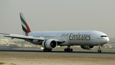 Un Boeing de la compagnie Emirates