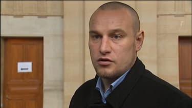 Marc Machin, lundi 17 décembre, lors de son procès en révision à la cour d'assise de Paris.
