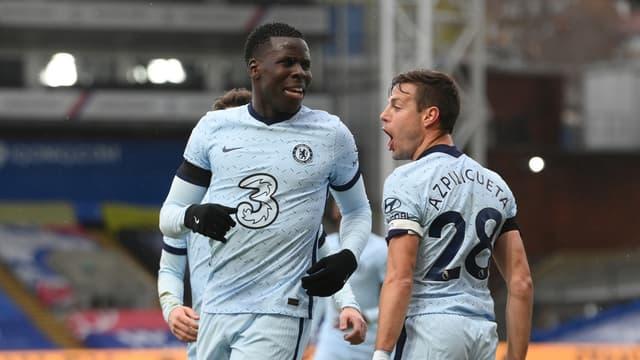 Kurt Zouma avec Chelsea en Premier League