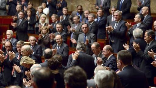 Le député UMP Bernard Reynès, à l'Assemblée nationale le 19 novembre 2013.