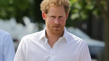 Le Prince Harry en juin 2016 -