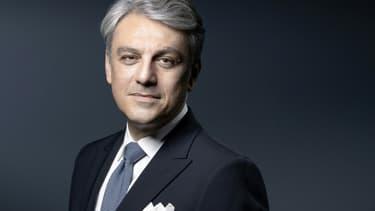 Le nouveau directeur général de Renault, Luca de Meo, le 7 juillet 2020 à Paris.