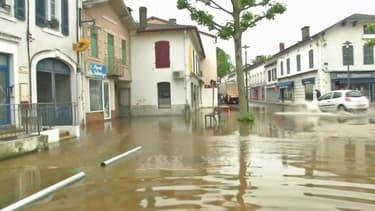 Les images des inondations dans les Landes après d'importantes intempéries