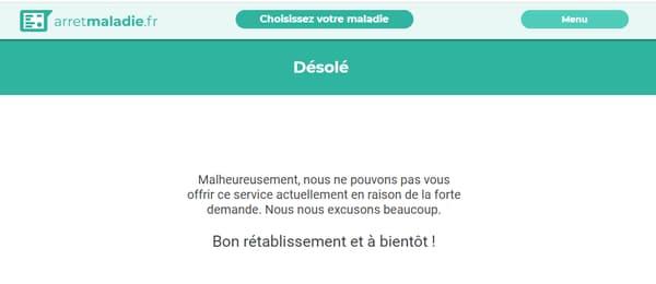 arretmaladie.fr