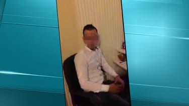 """Capture de la vidéo dans laquelle le jeune homme se présente comme le """"nouveau Mohamed Merah""""."""