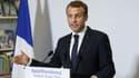 Emmanuel Macron a tenu une conférence de presse à Saint-Pétersbourg vendredi.