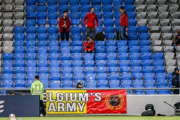 Des supporters de la Belgique au Kazakhstan en 2019