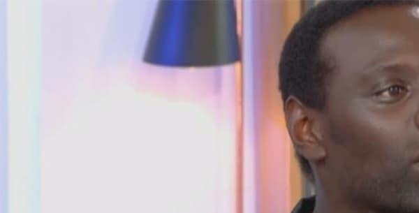 """Omar Sy sur le plateau de """"C à vous"""" sur France 5, le 11 octobre."""