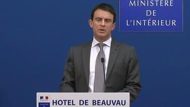 """Le ministre de l'Intérieur, Manuel Valls, est """"ambitieux"""". Il le dit lui-même."""