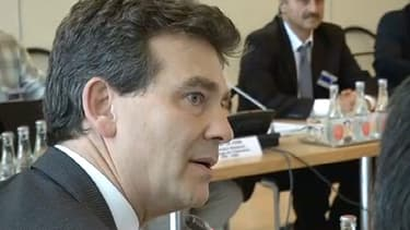 Le ministre du Redressement productif a tenu à nouveau un discours critique vis-à-vis de l'Europe.