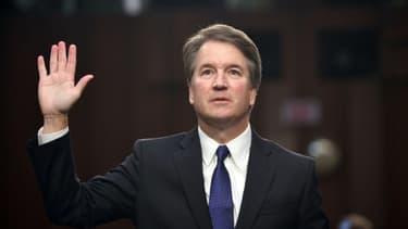 Le juge Brett Kavanaugh à l'ouverture de son audition devant le Sénat américain, le 4 septembre 2018