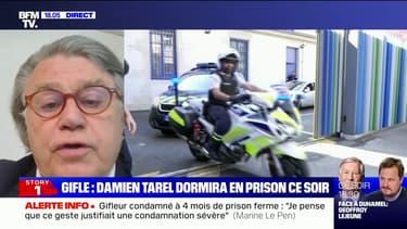 """Emmanuel Macron giflé: """"Le tribunal devait marquer le coup"""", estime l'eurodéputé RN, Gilbert Collard"""