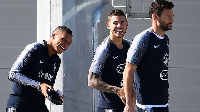 Mbappé, Hernandez, Lloris