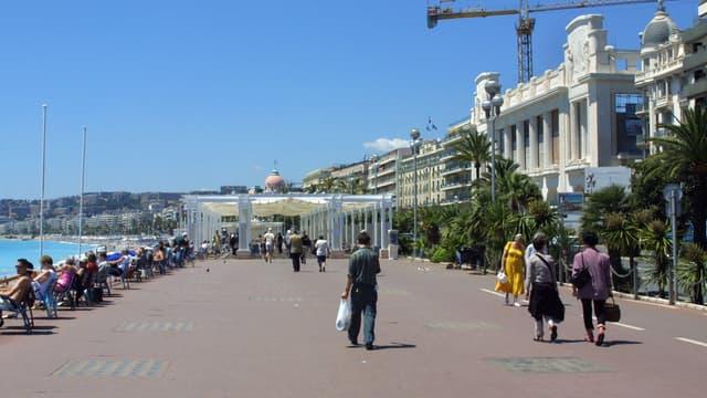 La promenade des Anglais à Nice (photo d'illustration)
