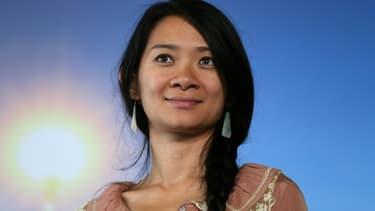 La réalisatrice sino-américaine Chloé Zhao en septembre 2015 au Festival du film américain à Deauville