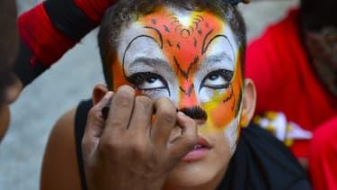 Carnaval en Colombie, le 10 février 2013.