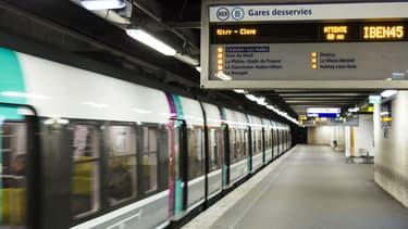 Image d'illustration du RER B.
