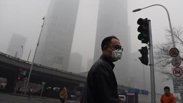 La concentration de particules, en Chine, atteint des niveaux très dangereux.