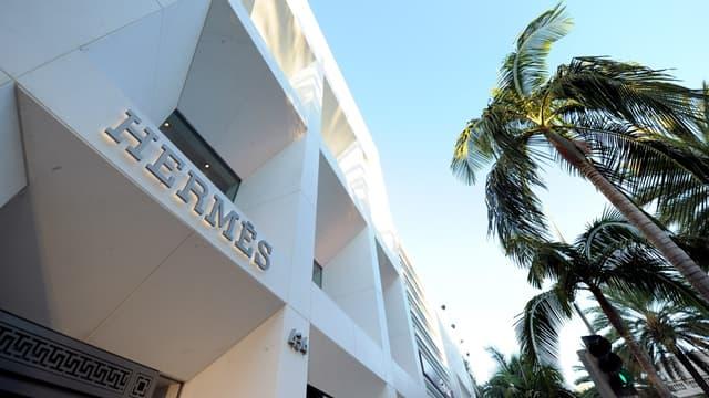 Hermès a notamment été porté par la bonne croissance de sa division maroquinerie