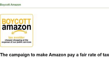 """""""La campagne pour forcer Amazon a payer le juste taux d'impôt""""."""