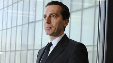 Christian Kern, le nouveau chancelier autrichien, le 19 mars 2012.
