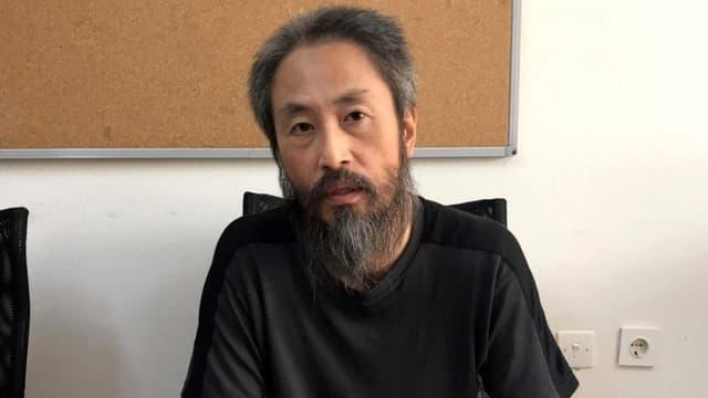 Le Japonais Jumpei Yasuda, retenu en Syrie depuis 2015.