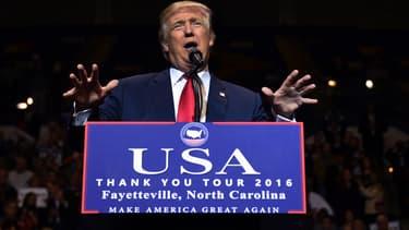 Donald Trump prendra ses fonctions à la Maison Blanche le 20 janvier prochain.