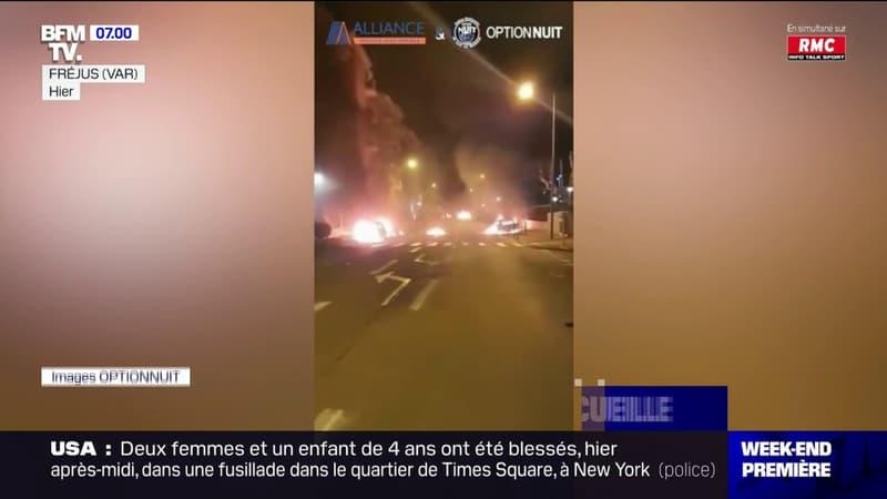 Violences urbaines à Fréjus: un policier du syndicat Alliance évoque une