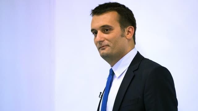 Florian Philippot, le 14 septembre 2013.