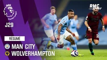 Résumé : Manchester City 4-1 Wolverhampton - Premier League (J29)
