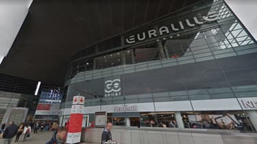 Le centre Wesfield Euralille, à Lille