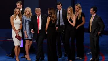 Donald Trump et sa famille ont battu le record des dépenses.