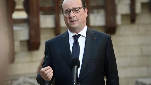 François Hollande a assuré que l'objectif de déficit public serait tenu.