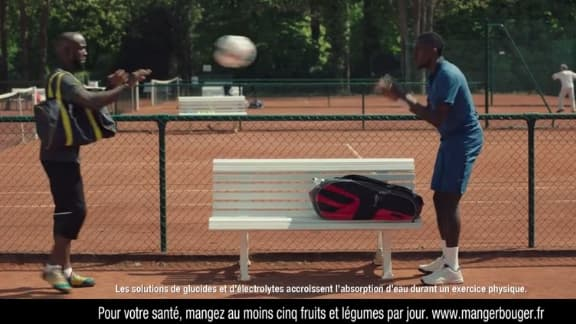 Lassana Diarra et Blaise Matuidi