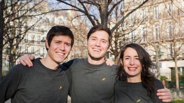 François Martin, Benoît Martin et Julie Chapon ont lancé Yuka en janvier 2017.