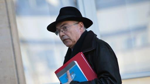 Paul Jean-Ortiz, ici le 28 janvier 2013 devant l'Elysée, était le conseiller diplomatique de François Hollande.