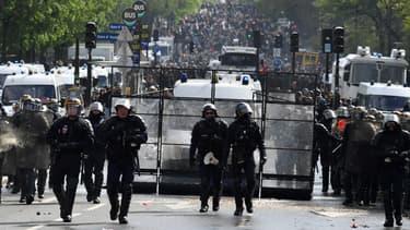 Lors du 1er-Mai, ils étaient 1.500 policiers et gendarmes à être déployés.