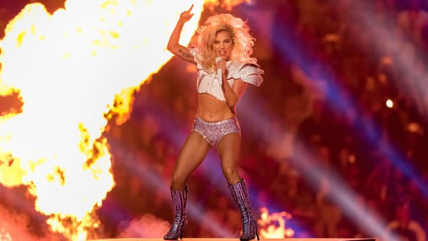 Lady Gaga lors du Super Bowl