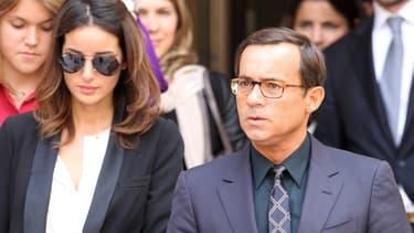Jean-Luc Delarue et  Anissa, le 16 juin 2011.