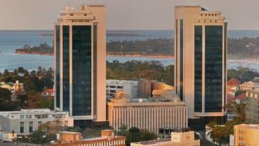 Vue de Dar Es Salam, capitale de la Tanzanie